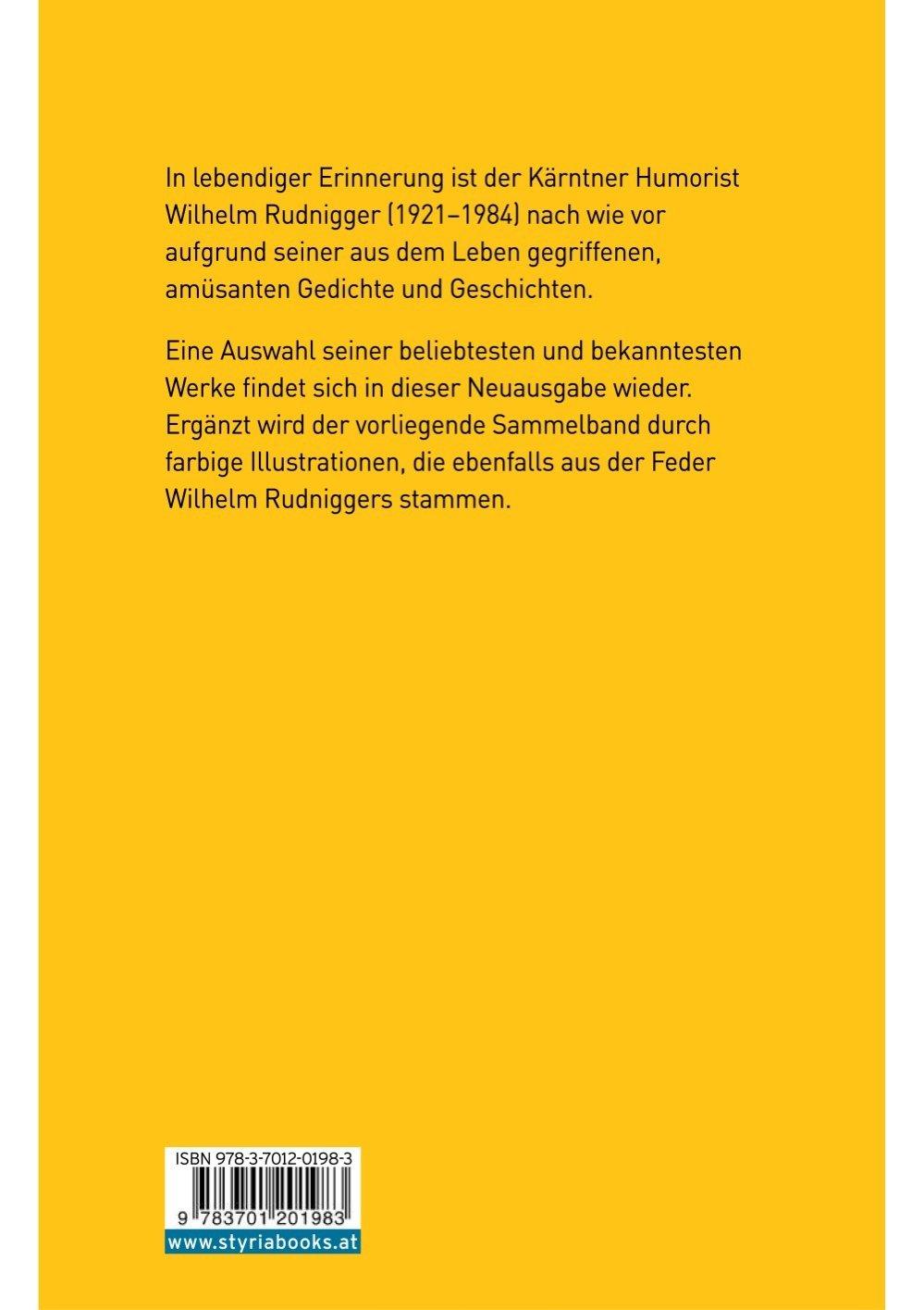 Das Beste Von Wilhelm Rudnigger Versandkostenfrei Bestellen